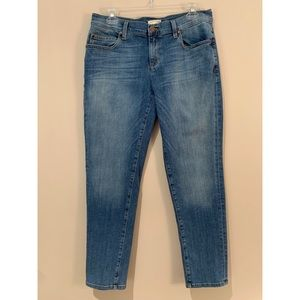 Eileen Fisher Skinny Ankle Organic Cotton Jeans